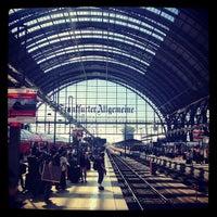 Photo taken at Frankfurt (Main) Hauptbahnhof by Bjoern E. on 7/19/2013