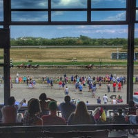 Photo taken at Suffolk Downs by Jessica A. on 8/14/2016