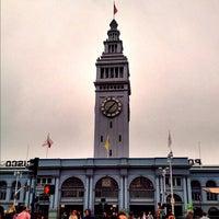 Photo taken at Golden Gate Ferry Terminal by Jeffrey P. on 11/8/2012