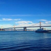 Photo taken at Golden Gate Ferry Terminal by Jeffrey P. on 11/3/2012
