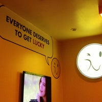 Photo taken at Lucky's Famous Burgers by Jeffrey P. on 4/7/2013