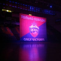 Photo taken at PBC CSKA by Nadia P. on 10/9/2012