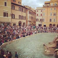 Photo taken at Piazza di Trevi by Mike S. on 6/22/2013