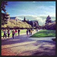 Photo taken at University of Washington by Steven C. on 4/15/2013