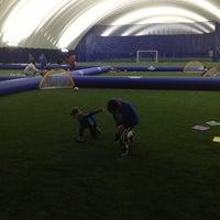 Photo taken at Soccerworld Polson Pier by DavidDutton.ca on 11/3/2012