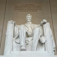 Photo taken at Lincoln Memorial by Arik F. on 7/24/2013