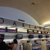 Photo taken at Oakland International Airport (OAK) by Piper J. on 6/5/2013