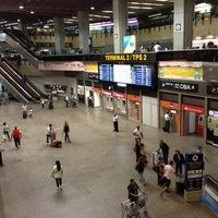 Photo taken at Terminal 2 (TPS2) by Bruno R. on 11/10/2012