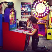Photo taken at Chuck E. Cheese's by Jonathan A. on 3/5/2013