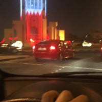 Photo taken at Clock Roundabout by Hajar F. on 12/28/2016