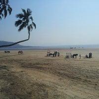 Photo taken at Murud Beach by Zhivaan R. on 2/9/2013