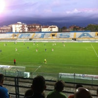 Photo taken at Arena Garibaldi - Stadio Romeo Anconetani by Cristina D. on 10/3/2012