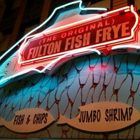 Photo taken at (The Original) Fulton Fish Frye by Michael B. on 10/9/2015