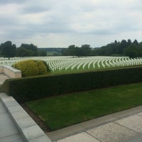 Photo taken at Henri-Chapelle American Cemetery and Memorial by Lieselotte S. on 7/21/2016