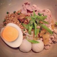 Photo taken at Kanom Jeen Bangkok by Tarn T. on 3/26/2014