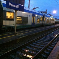 Photo taken at Stazione Vercelli by Colum B. D. on 11/28/2012
