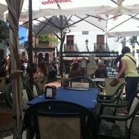 Photo taken at Plaza Larga by Andac O. on 4/27/2014