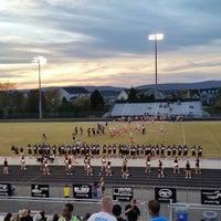 Photo taken at Battlefield High School by Dev B. on 10/28/2014