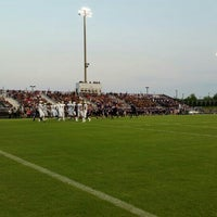 Photo taken at Battlefield High School by Dev B. on 8/29/2015