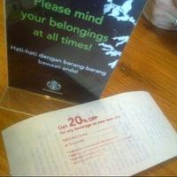 Photo taken at Starbucks by tiffany s. on 9/27/2012