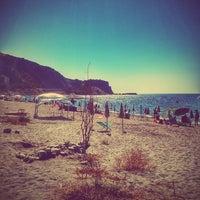 Photo taken at Spiaggia di Bova Marina - Zona Fairstar by MarioMiX on 8/9/2014