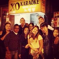 Photo taken at XO Karaoke Bar by jade on 9/1/2014