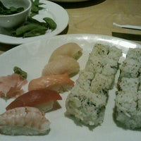 Photo taken at Sushi Zushi by Marcy N. on 11/2/2012