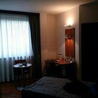 Photo taken at Hotel Fiera by Sergey L. on 1/7/2014