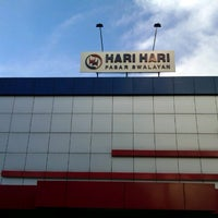 Photo taken at Hari Hari Pasar Swalayan by Ribas A. on 12/15/2012