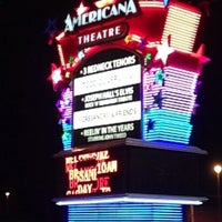 Photo taken at Americana Theatre by Chelsea T. on 10/15/2013