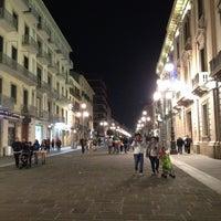 Photo taken at Piazza Libertà by Cinomania E. on 5/10/2014
