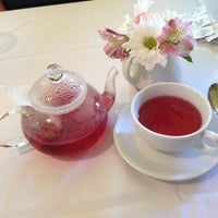 Photo taken at Ana Beall's Tea Room by Angelina B. on 5/12/2013