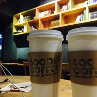 Photo taken at GOOD COFFEE by Younghye J. on 4/9/2015