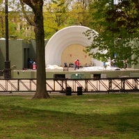 Photo taken at Celebrate Brooklyn!/Prospect Park Bandshell by Mark P. on 5/7/2013