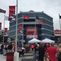 Photo taken at Charlotte Motor Speedway by Nick B. on 5/29/2016