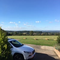 Photo taken at Fordcombe Village by Richard T. on 10/5/2016