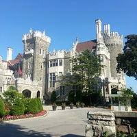 Photo taken at Casa Loma by Alex G. on 6/14/2013
