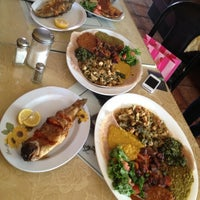 Photo taken at Ibex Ethiopian Restaurant by Anna S. on 12/9/2012
