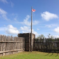 Photo taken at Fort Supply by Mike S. on 5/9/2013