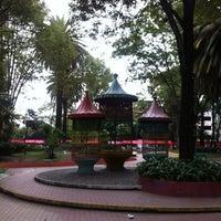Photo taken at Jardín Del Arte by Fausto B. on 6/8/2012