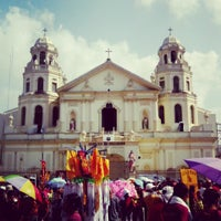 Photo taken at Minor Basilica of the Black Nazarene (Quiapo Church) by Glen G. on 3/29/2013