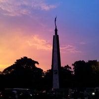 Photo taken at Tugu Kujang Bogor by Gilang F. R. on 12/6/2012