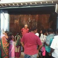 Photo taken at Iruttu Kadai (Halwa Store) by Amit A. on 2/23/2013
