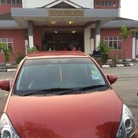 Photo taken at SMK Bandar Setia Alam by Cik M. on 4/28/2016