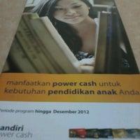Photo taken at Mandiri by Petra A. on 11/29/2012