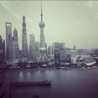 Photo taken at Hyatt on the Bund Shanghai by Jason Y. on 7/21/2013