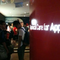 Photo taken at Singtel Comcentre iPhone Tech Desk by Fat G. on 11/3/2012