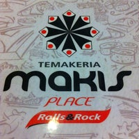 Photo taken at Temakeria Makis Place by Patricia M. on 3/1/2013