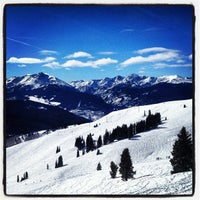 Photo taken at Back Bowls at Vail by John J. on 2/5/2013