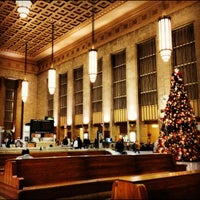 Photo taken at 30th Street Station (ZFV) by Katie P. on 12/2/2012